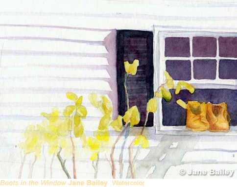 Boots in the Window by Jane Bailey